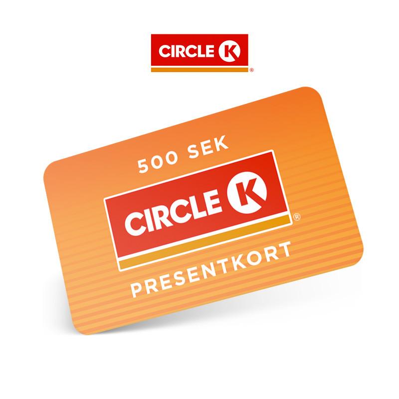 Circle K 500 kr