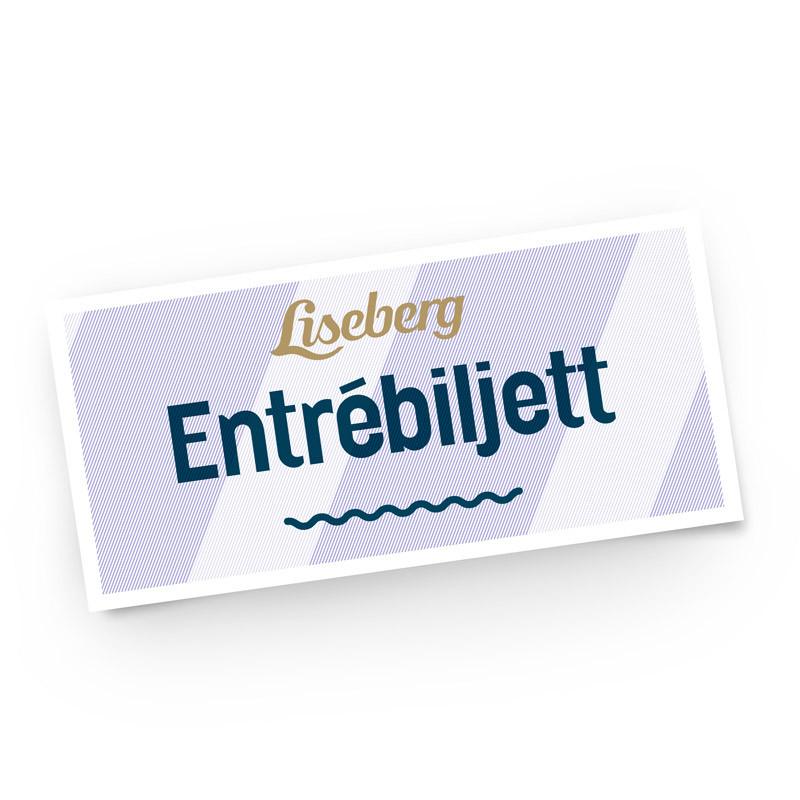Liseberg entrébiljett