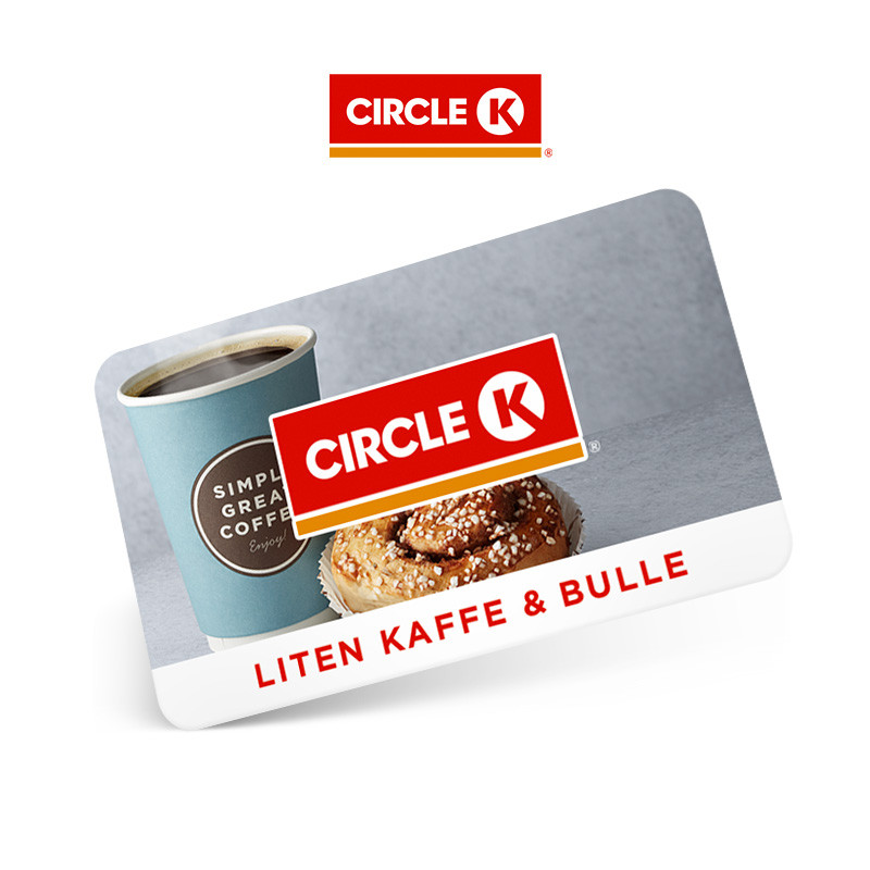 Circle K Liten Kaffe+Bulle