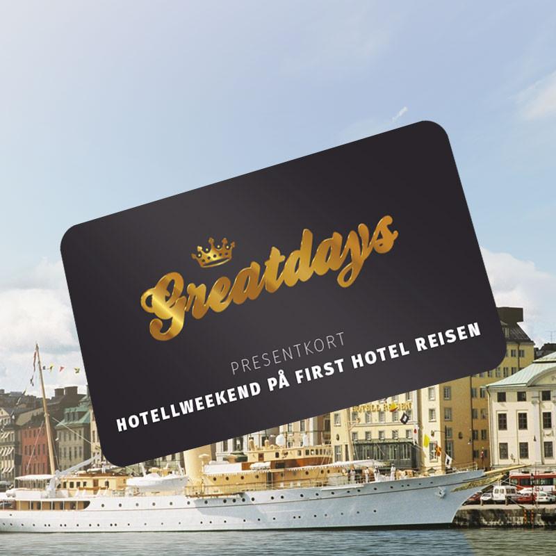Greatdays Hotellweekend på First Hotel Reisen