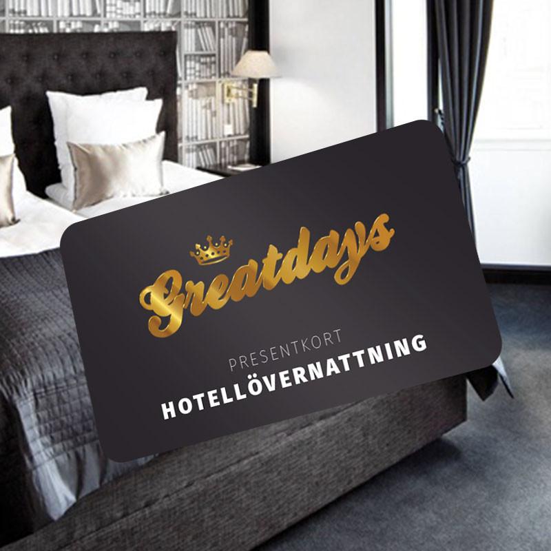 Greatdays hotellövernattning för två
